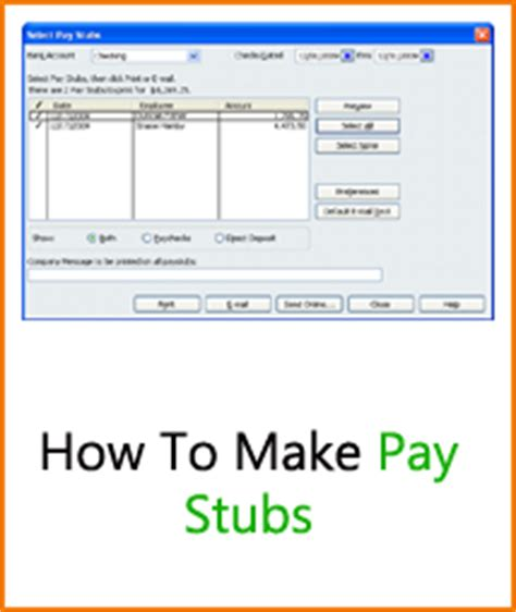 7 Create Pay Stubs Online Teknoswitch How To Create A Pay Stub Template