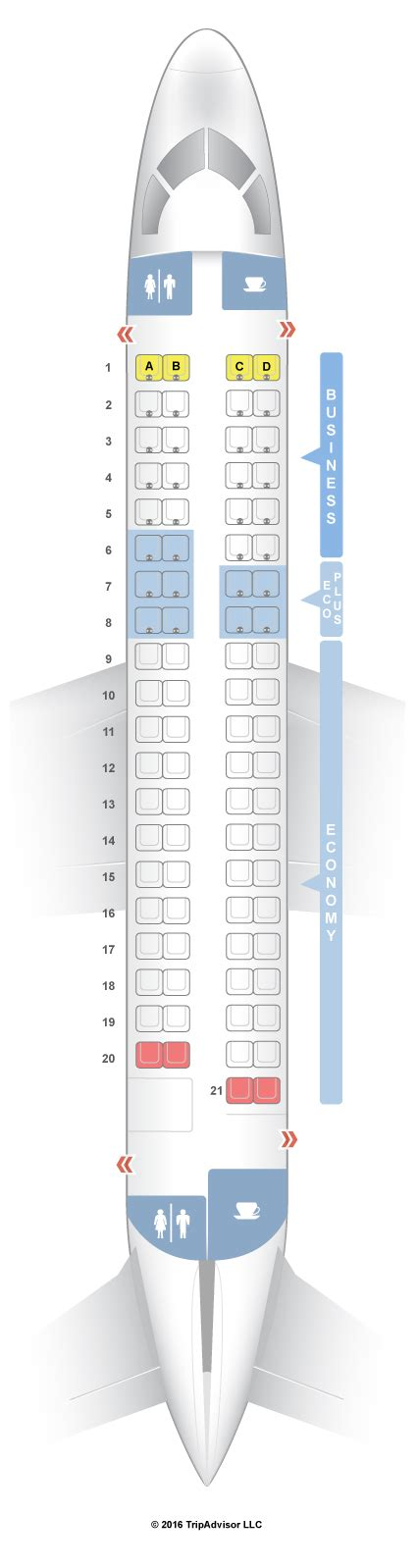 embraer erj 175 seat map seatguru seat map lot airlines embraer erj 175 e75
