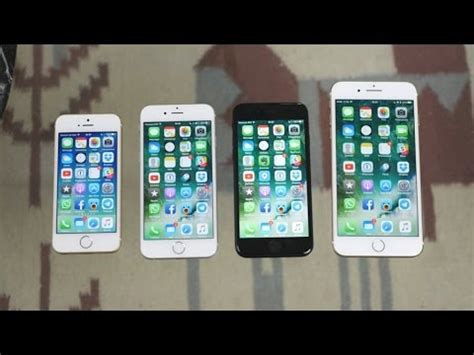 iphone se vs iphone 6s vs iphone 7 vs iphone 7 plus quale acquistare