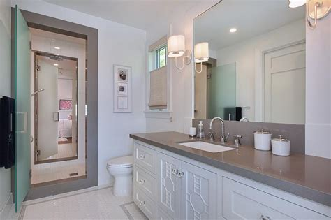 jack jill bath jack and jill shower with frosted glass doors