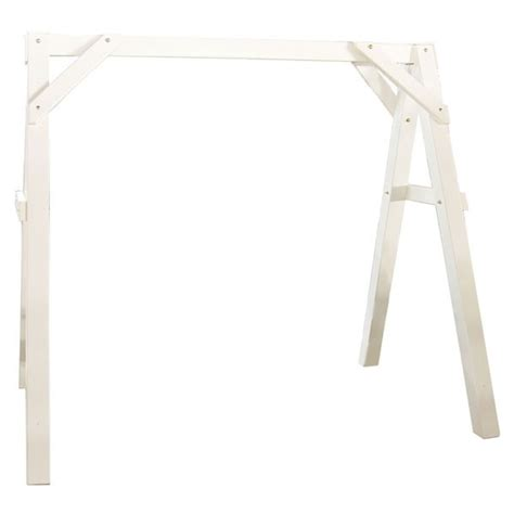 swing stand frame luxcraft vinyl a frame plastic swing stands