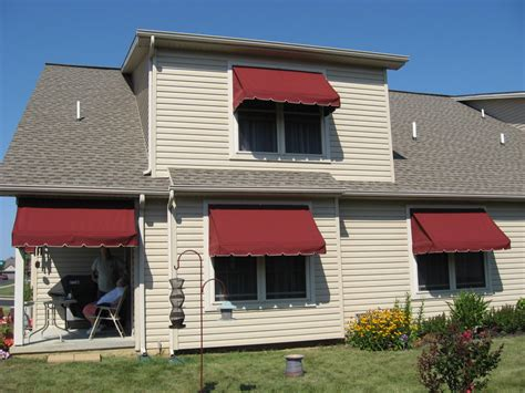 window awnings kreider s canvas service inc