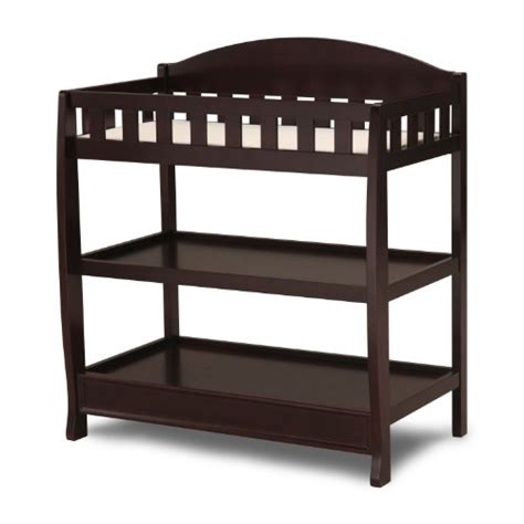 Delta Children Infant Changing Table With Pad Delta Espresso Changing Table