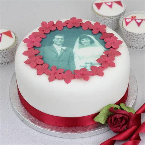 cake decorating kits personalised wedding anniversary cake decorating kit by
