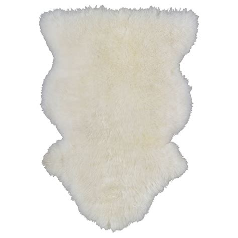 Sheepskin Mat by Ludde Sheepskin White Ikea
