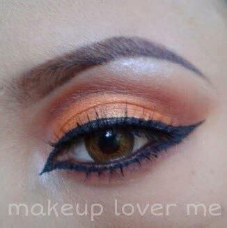 Mirabella Country Fresh Trio Eye Shadow make up lover me tutorial simple orange eye makeup