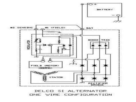 delcotron alternator wiring diagram wiring forums