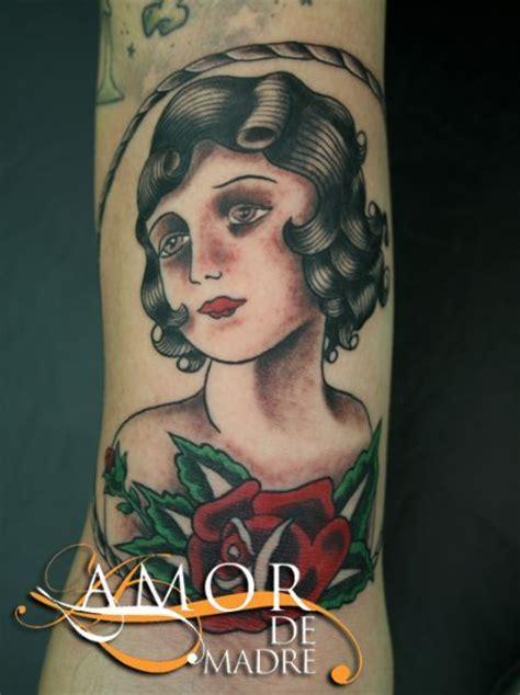 tattoo old school gitana amor de madre portada