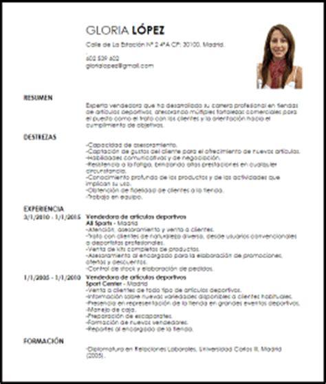 Plantilla Curriculum Vitae Para Tienda De Ropa Modelo Curriculum Vitae Vendedor A De Tienda Livecareer