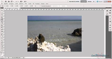 tutorial photoshop cs5 italiano raddrizzare una fotografia col righello videocorso
