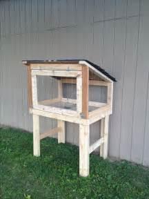 Building Outdoor Rabbit Hutch Rabbit Hutch Diy Animals Pinterest