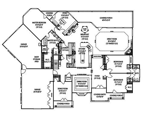 luxury estate floor plans holstein manor luxury home plan 067s 0005 house plans