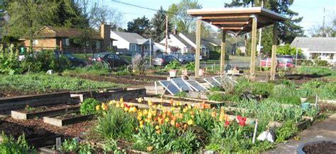 portland community gardens oregon solutions