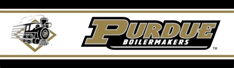 College Rugs Purdue Boilermakers 5 1 4 Quot Tall Wallpaper Border