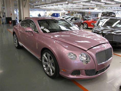 pink bentley pink bentley gt on sale for susan g komen benefit