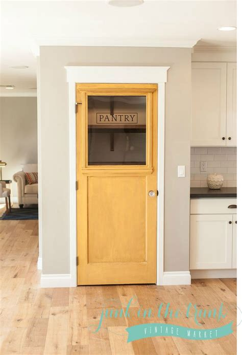 17 best ideas about kitchen pantry doors on