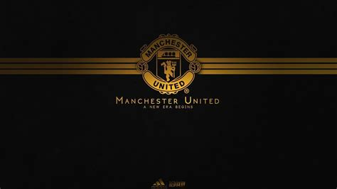 wallpaper gold man wallpapers logo manchester united 2016 wallpaper cave