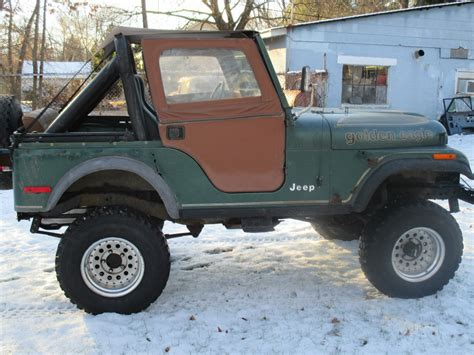 jeep eagle lifted 1979 amc jeep golden eagle cj5 cj 5 jeep cj lifted with