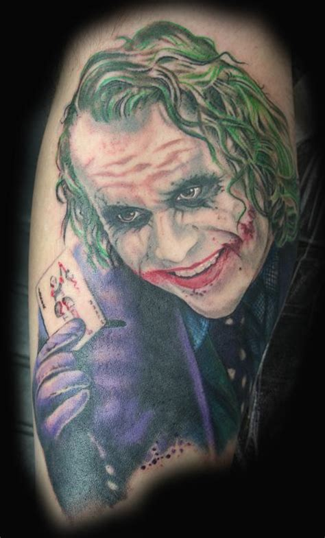 dark knight tattoo heath ledger by stevie monie tattoos