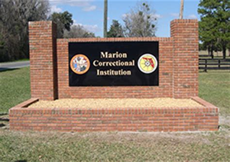 Ocala Department Warrant Search Marion Correctional Institution Fl Dept Of Corrections