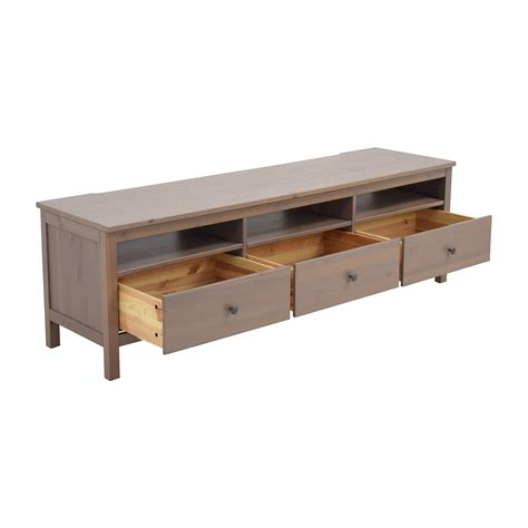 72 off ikea ikea long storage ottoman storage 62 off ikea ikea hemnes tv unit with drawers and