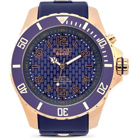 montre Kyboe RG 002 55   Rose Gold Twilight