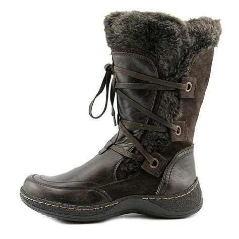 baretraps eloquent leather brown snow boot boots