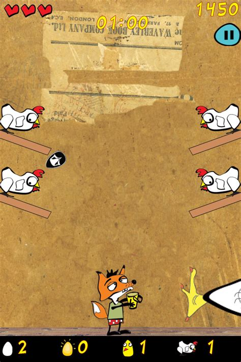 Kaos Grizzly exciting new release for iphone ipod touch chiken kaos by grizzly bunny inc