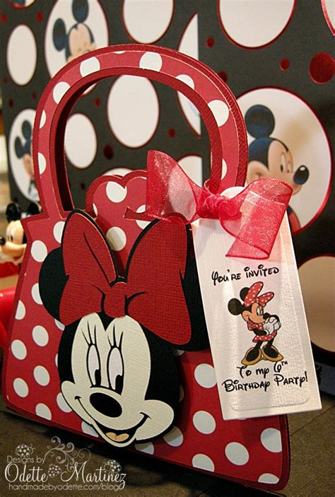 Handmade By Odette - minnie mouse invitation handmade by odette llc auto