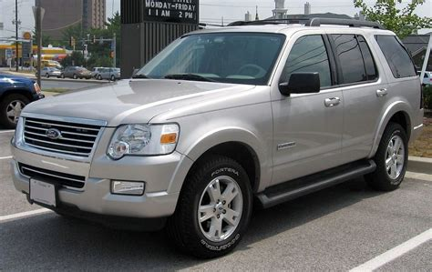 how things work cars 2006 ford explorer security system file 2006 2007 ford explorer jpg wikimedia commons