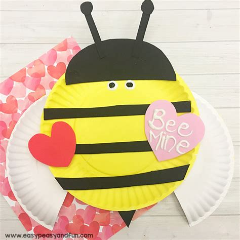 bumble bee paper plate craft s day arts and crafts teacherboards community