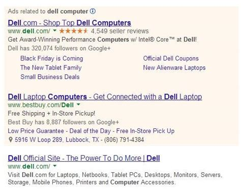 dell ad are you these 10 common adwords mistakes