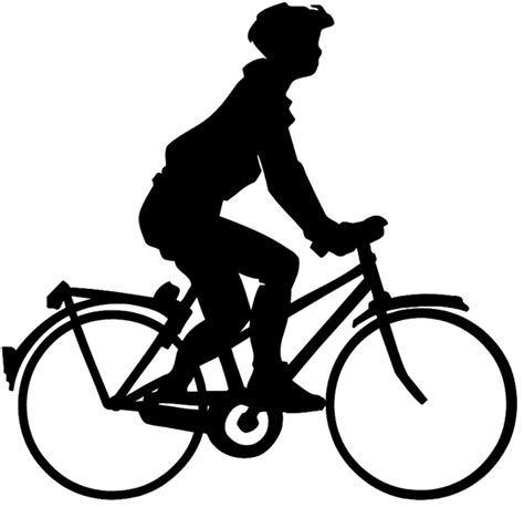 Motorrad Silhouette by Signspecialist Beevault Decals Boy On Bike