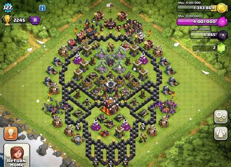 coc unique layout 11 best images about awesome clash of clans on pinterest
