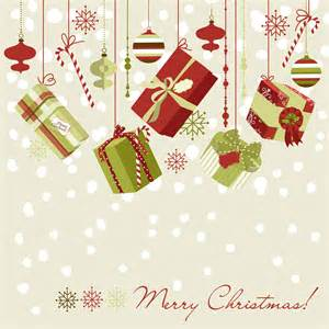 beautiful christmas design 02 vector free vector 4vector