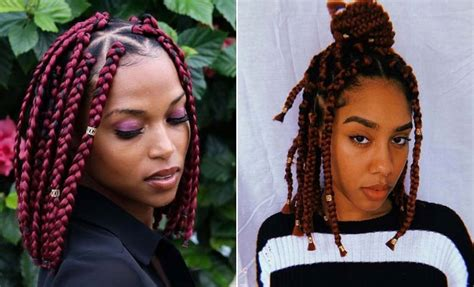 short box braid hairstyles perfect  warm weather