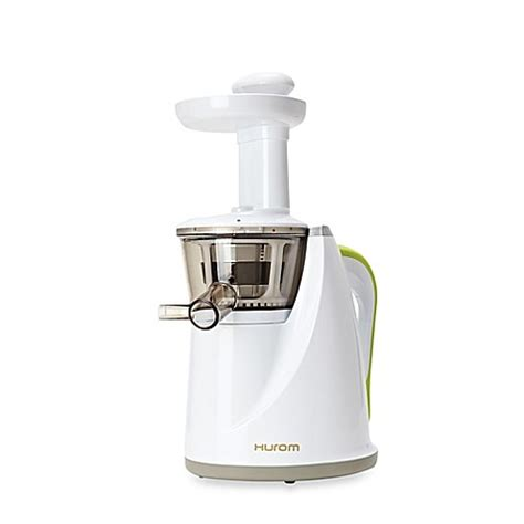 juicer bed bath and beyond buy hurom 174 slow juicer in white from bed bath beyond