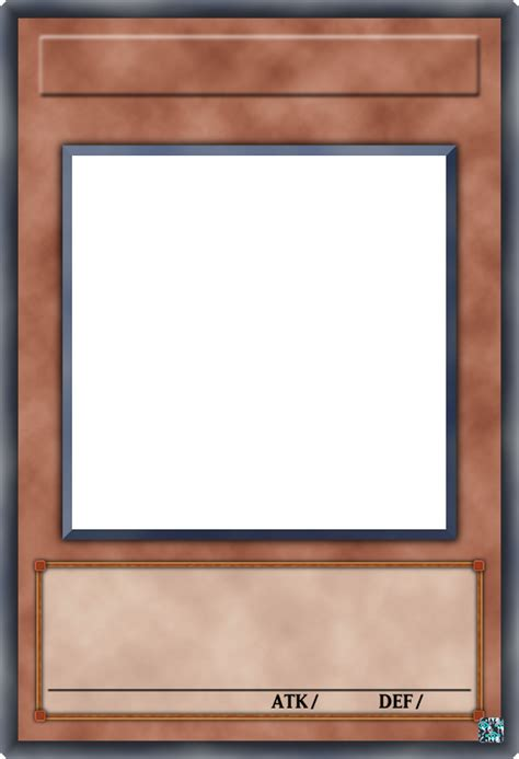 blank yugioh card template png オリカの素材 効果モンスターカード 説明付 オリカ製作所 yahoo ブログ