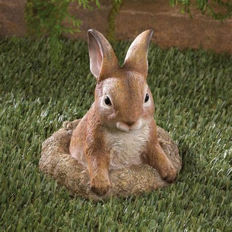 Bunny Garden Decor Curious Bunny Garden Decor 10016128 Baubles N Bling