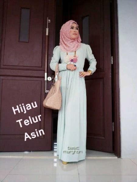 Baju Warna Biru Telor Asin new basic marghon 2 hijau ts baju muslim gamis modern