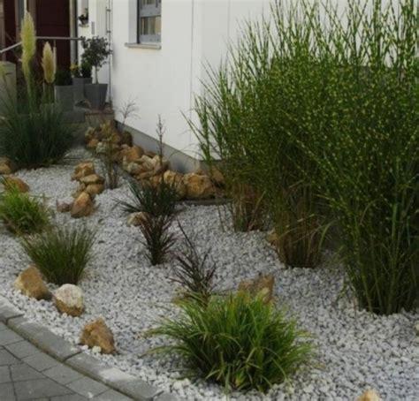 Vorgarten Gestalten Mit Kies Und Gräsern by Garten Mit Grasern Und Kies