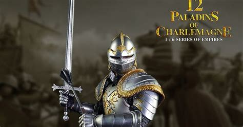 Coomodel Se003 12 Paladins Of Charlemagne 1 6 Figure Diecast Ho onesixthscalepictures coo model paladins of charlemagne product news for 1 6 scale