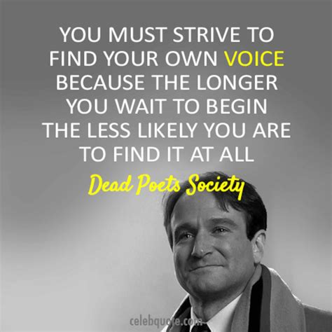 movie quotes dead poets society yes robin williams suicide was selfish that s how