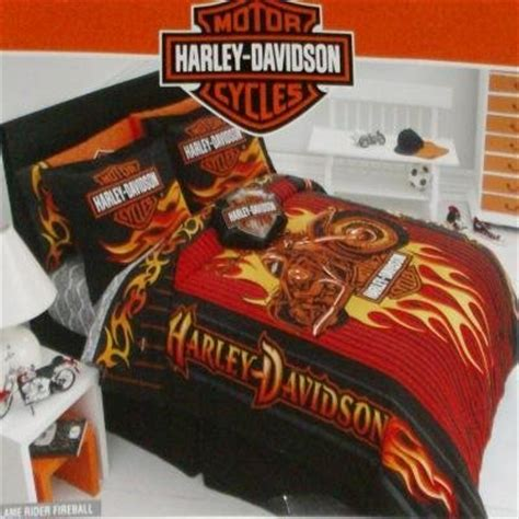 motorcycle bedding harley davidson bedding sets