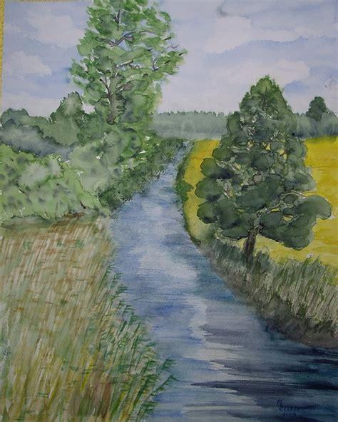 Lukisan Pemandangan Kung gambar lukisan sungai cikguseni soalan spm