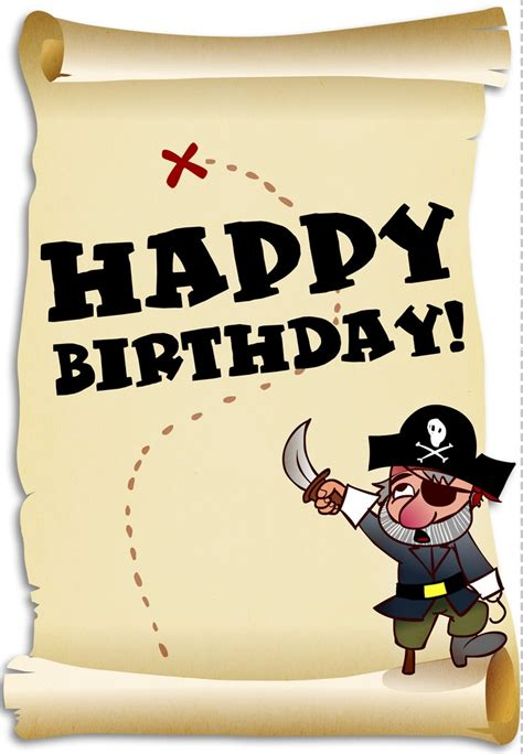 printable birthday card pirate 138 best images about birthday cards on pinterest free