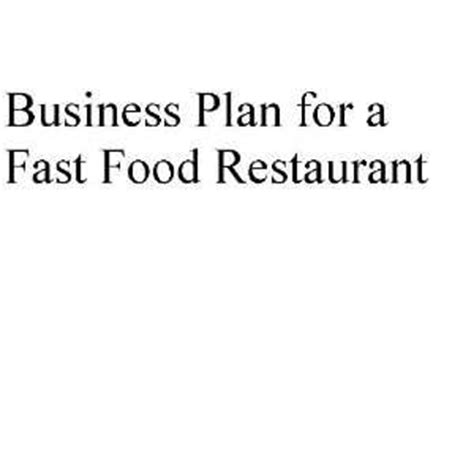fast food business plan template placed top 10 qsrs in april may2013 png images frompo