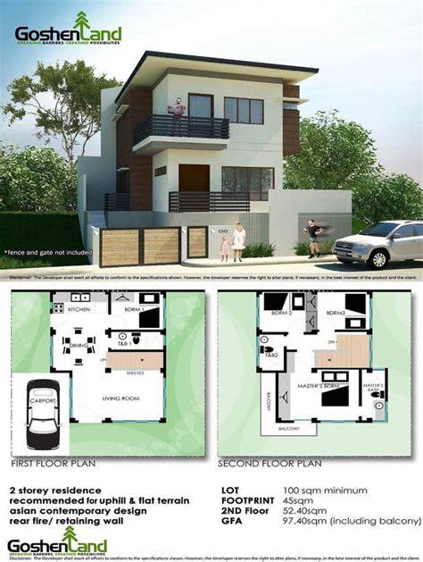 square meter house floor plan