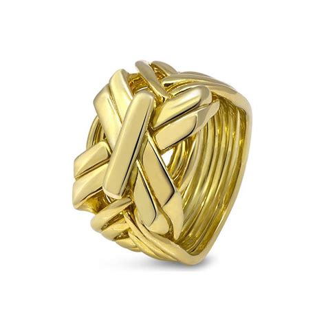 mens gold 9sb1 m puzzle rings creations