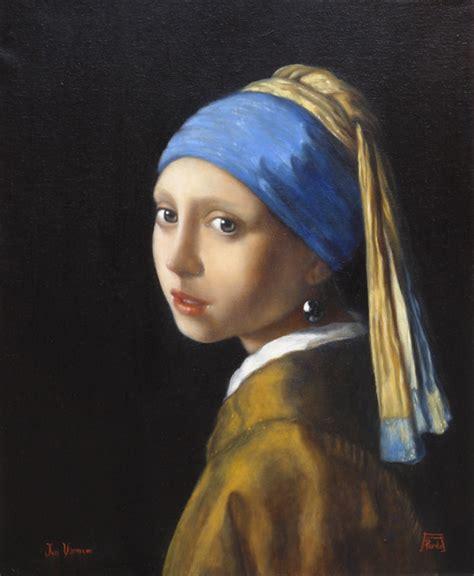 comprar cuadro la joven de la perla cuadros actas de meditaci 243 n la joven de la perla